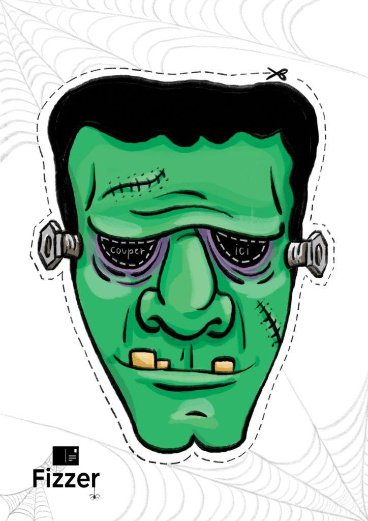 masque halloween Frankenstein Fizzer
