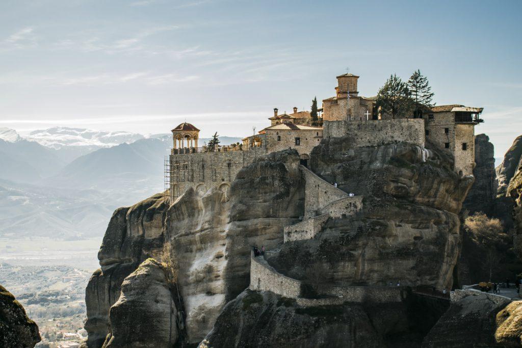 Virée aux Météores, monastères en Grèce