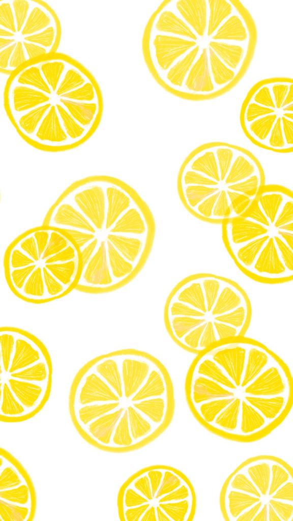 fond d'ecran citrons pour mobile