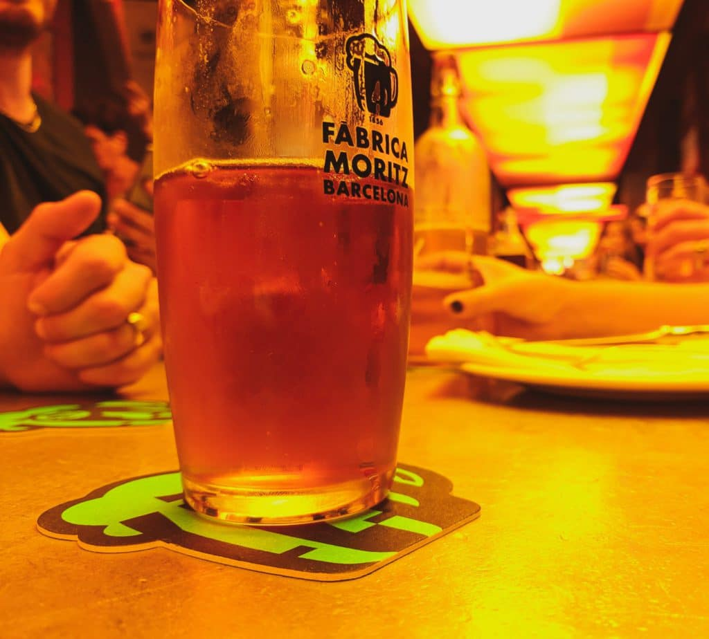 Bière de la Fabrica Moritz
