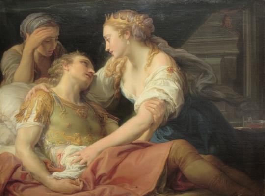 Cleopatre et Marc-Antoine belles histoires d'amour