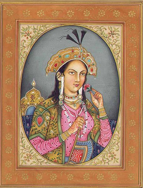 Gravure de Mumtaz Mahal