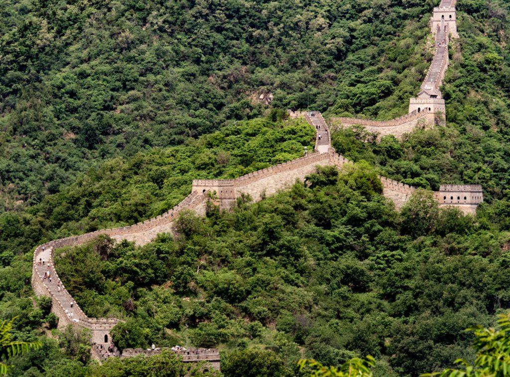 Muraille de Chine 7 merveille du monde