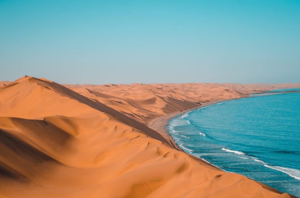 Plage en Namibie
