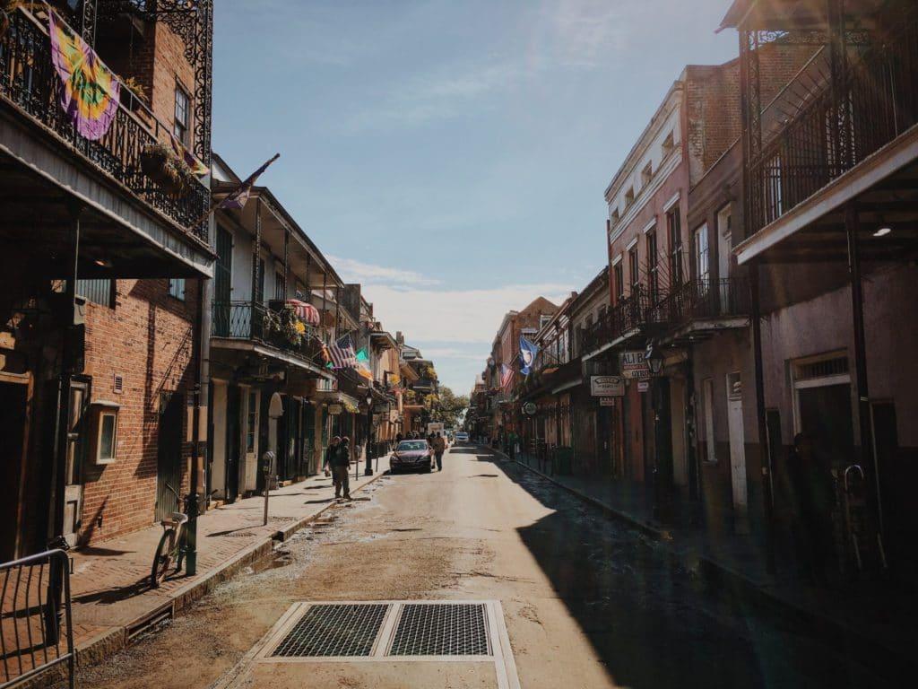 Nouvelle-Orléans quartier français toussaint