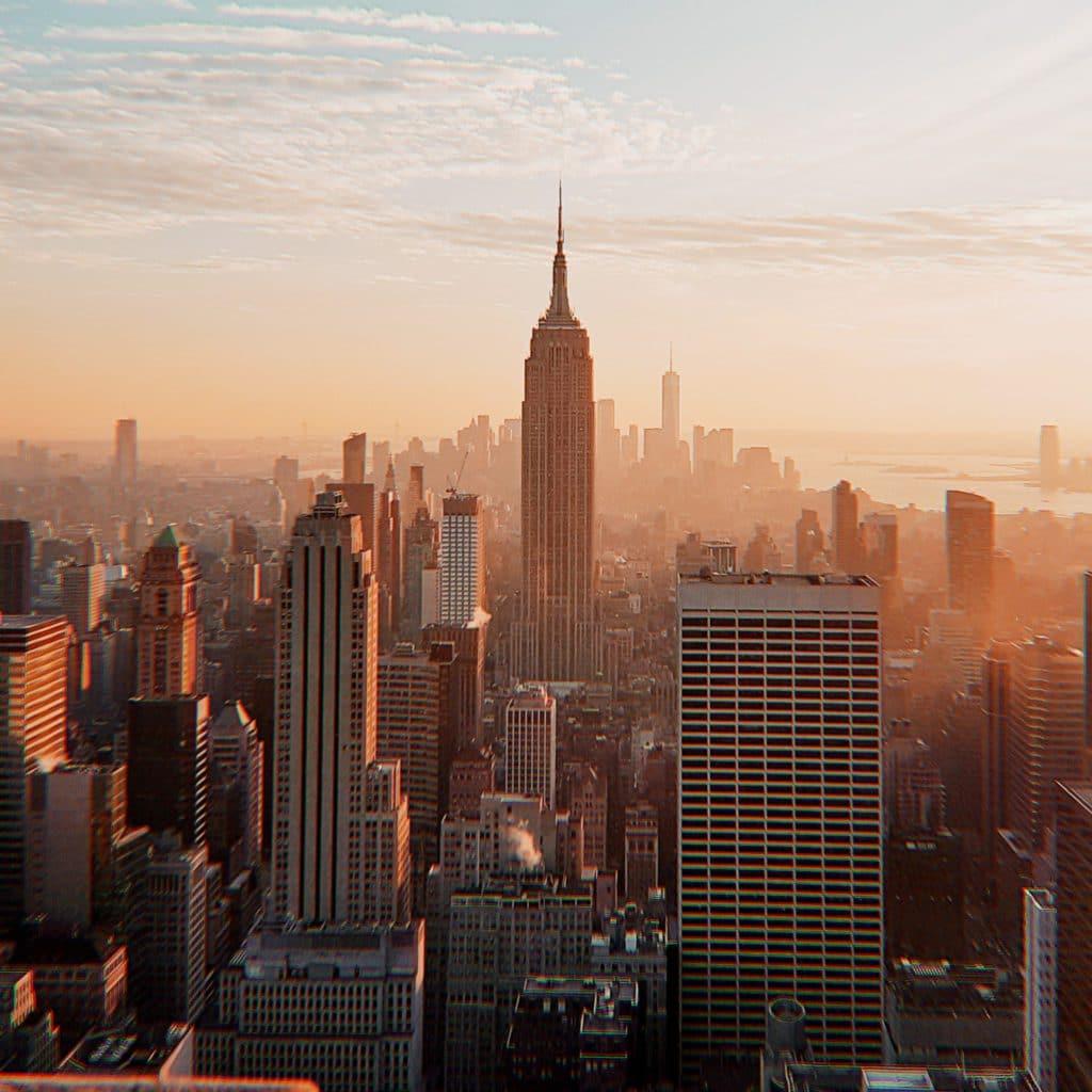 Réveillon du Nouvel An sur Time Square