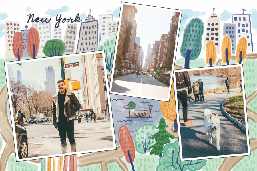 carte postale park