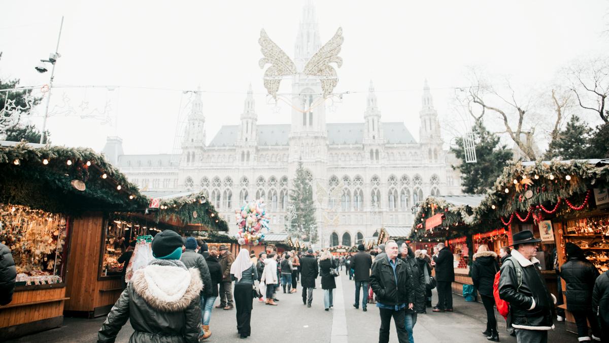 Marche de Noel de Vienne en Autriche