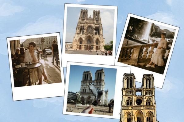 Illustration avec photos Notre-Dame-de-Paris