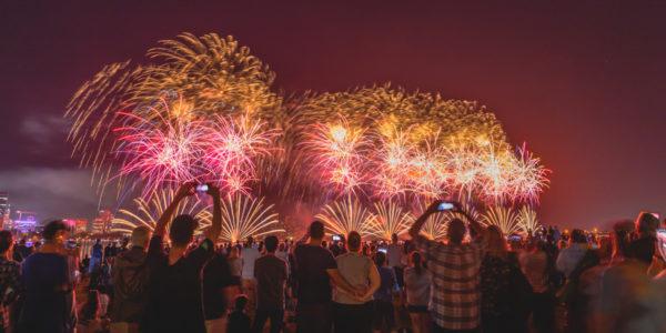 lieux insolites pour Nouvel An 2021 avec feux d'artifice