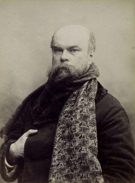 Portrait de Paul Verlaine amant de Rimbaud