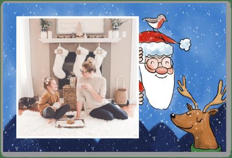 Renne et Père Noël