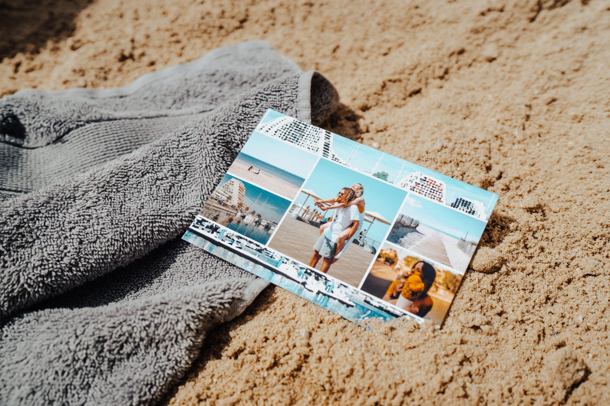 carte postale montpellier