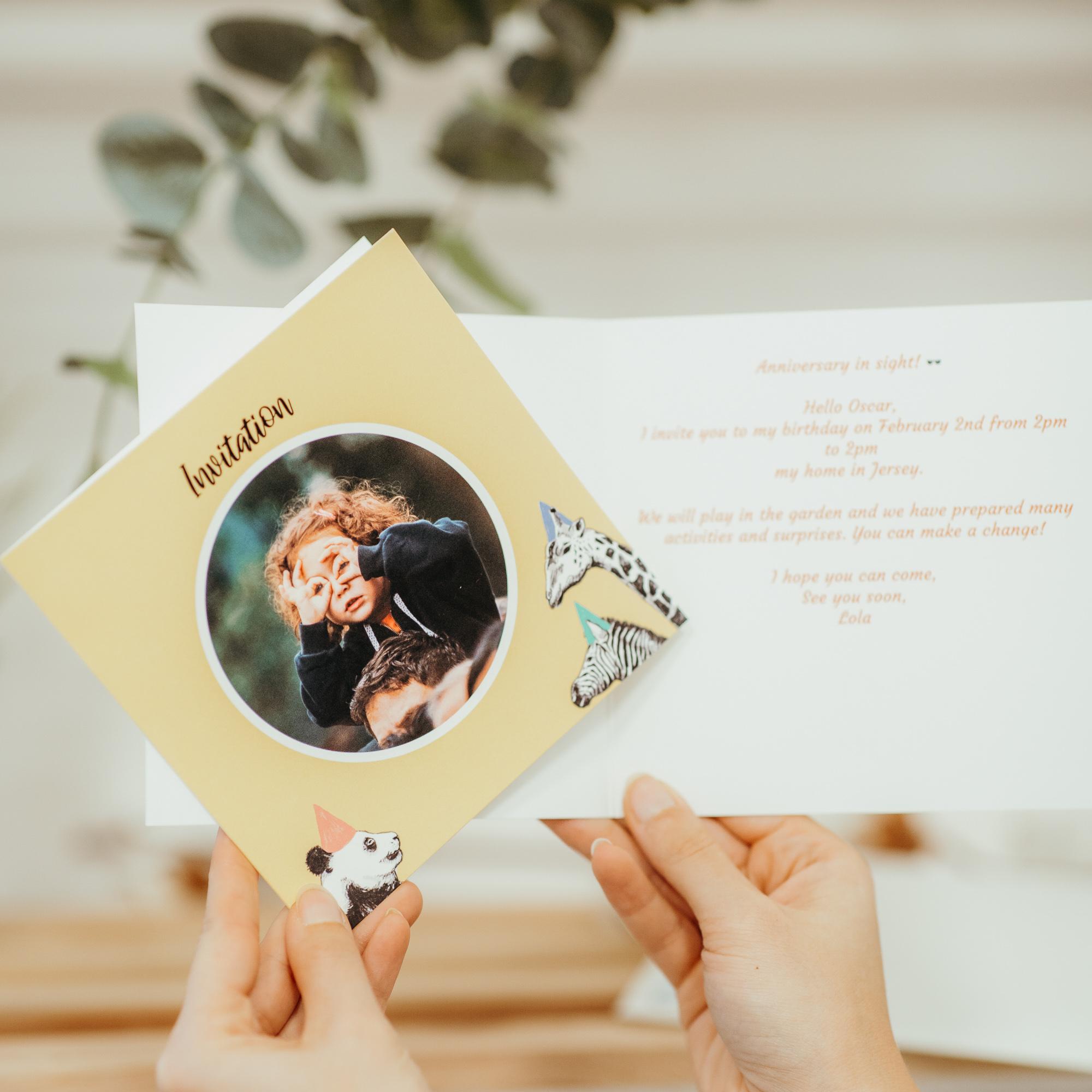 texte d'invitation anniversaire fille simple et efficace