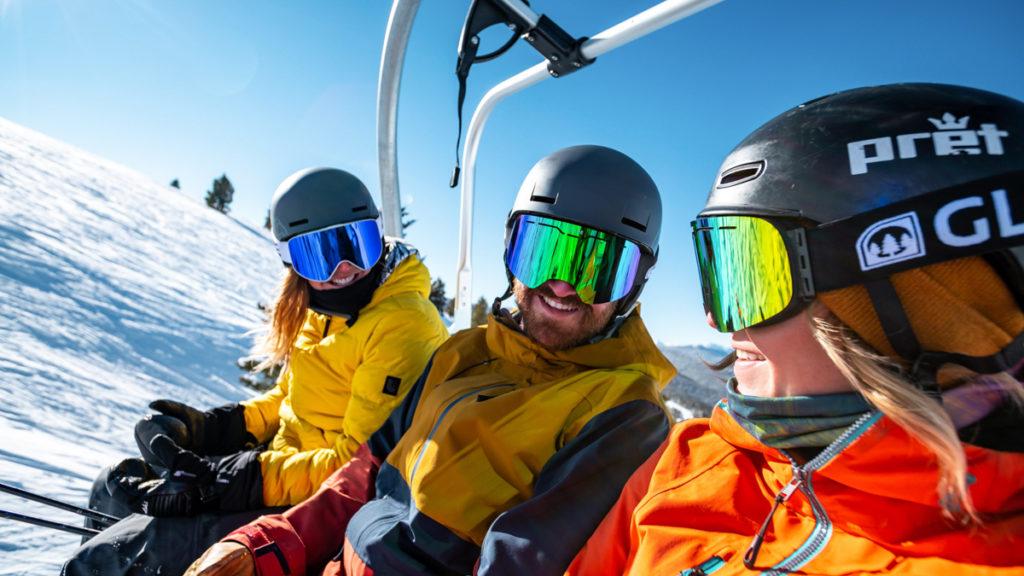 Photo ski en famille