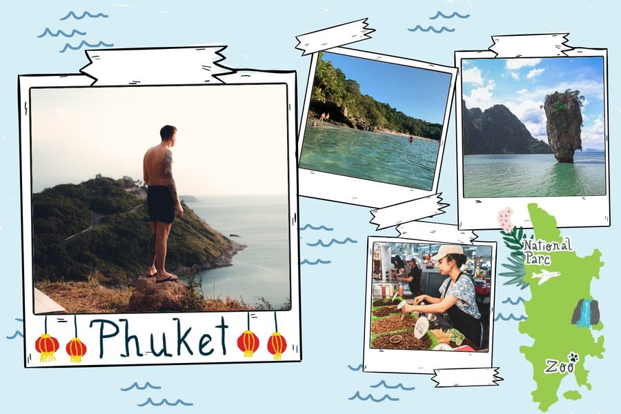 carte postale phuket