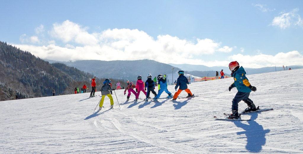 Photo ski piou piou