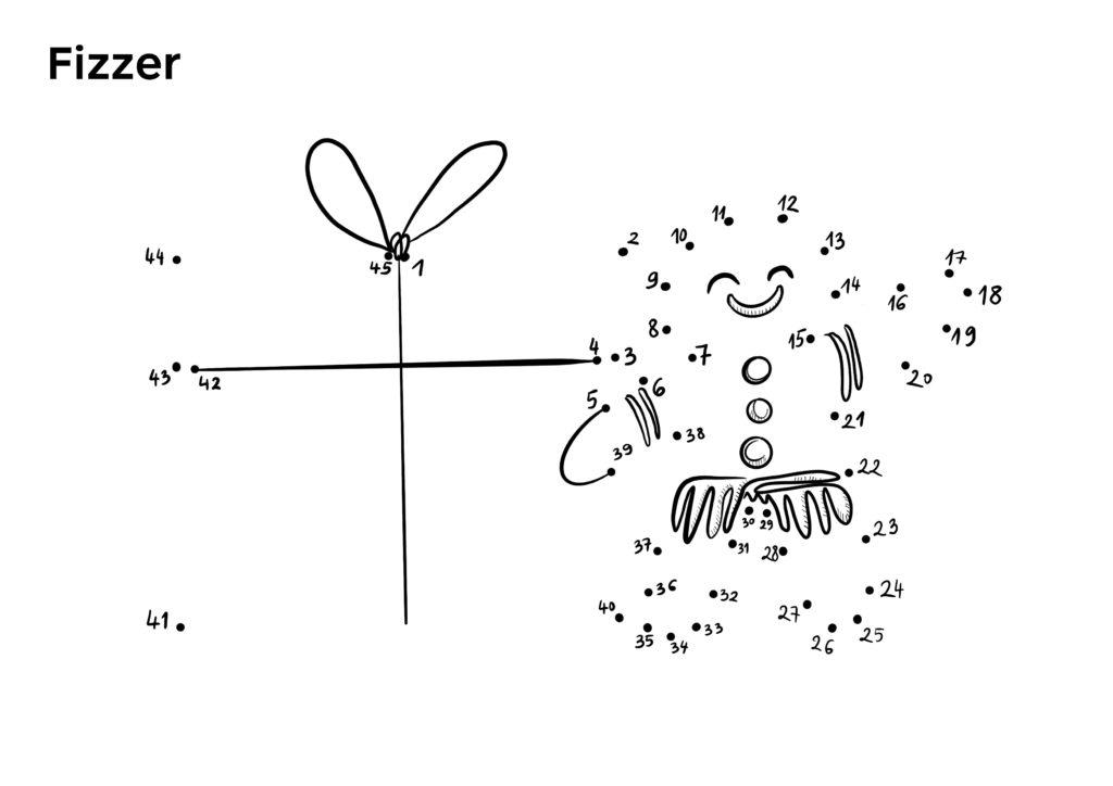 Points A Relier Noel Une Belle Activite Pour Les Fetes Fizzer