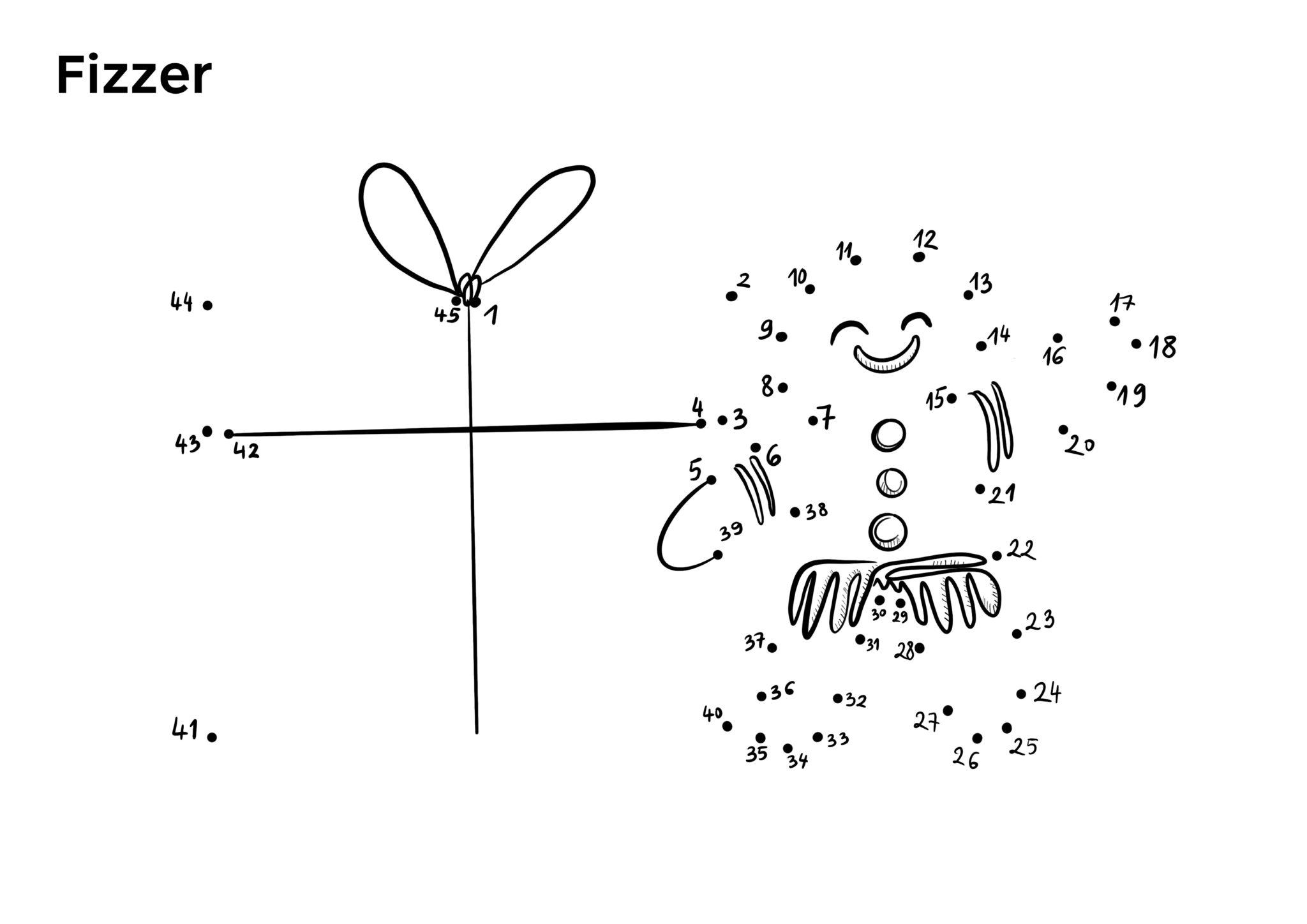 Points à Relier Noël | Une belle activité pour les fêtes