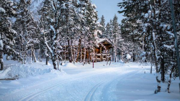 Chalet du Pere Noel au Pole Nord