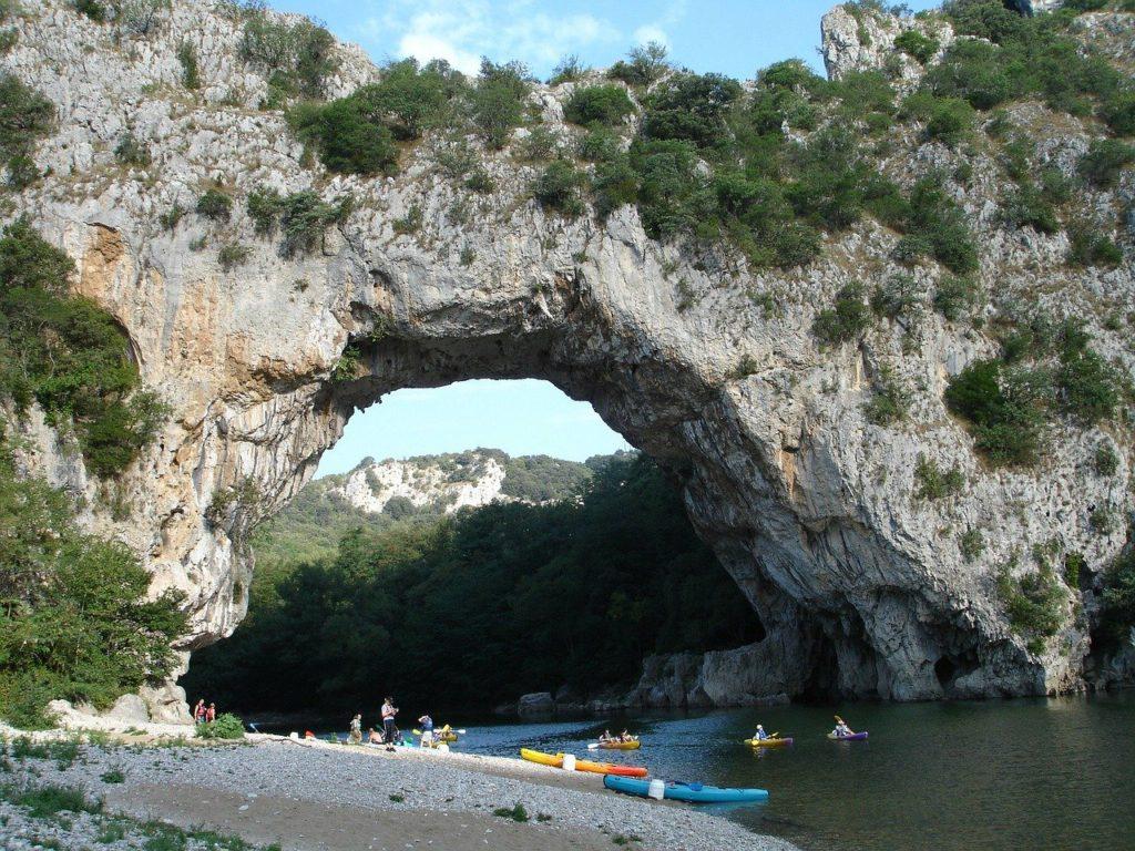 Pont d'Arc en Ardeche France