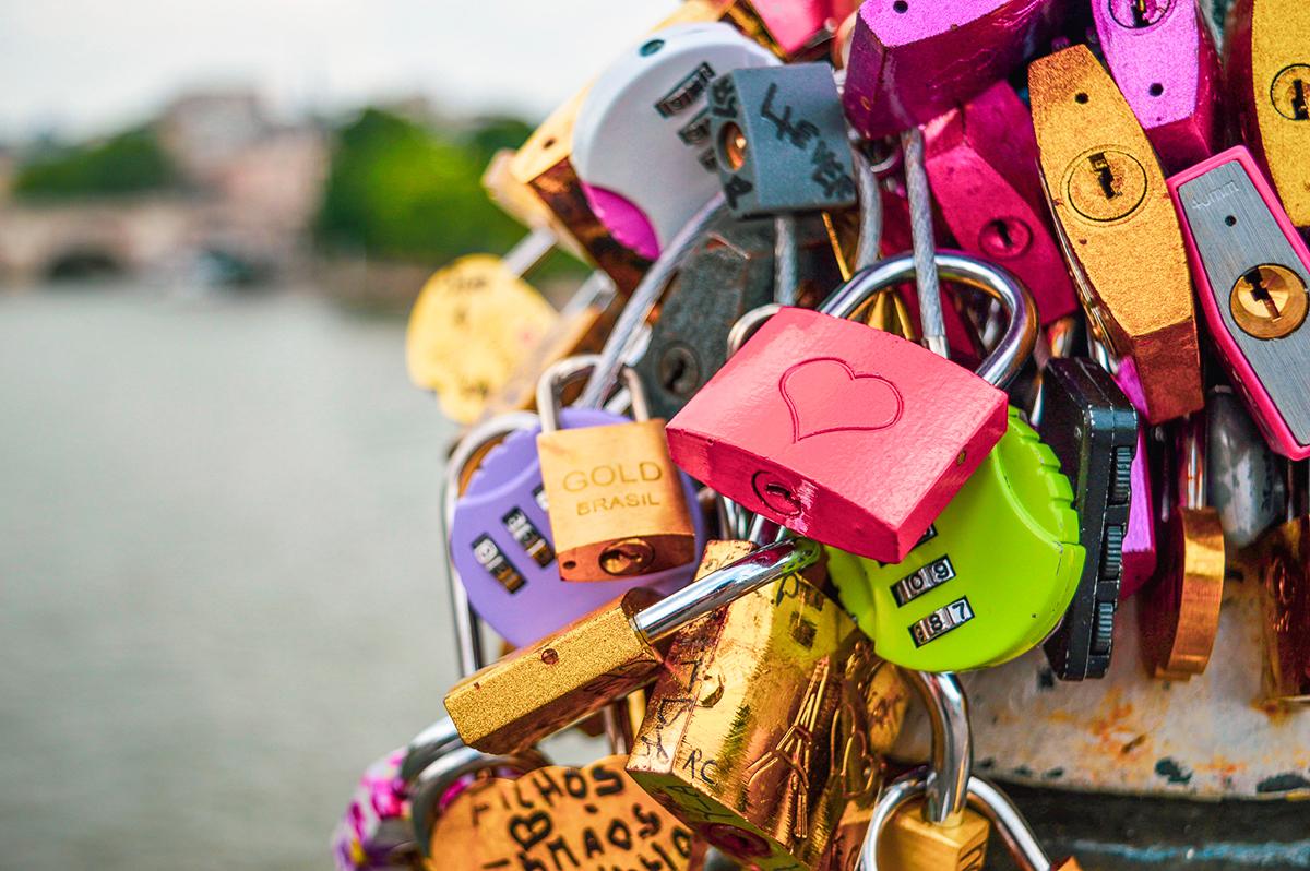 Cadenas du Pont des Arts a Paris