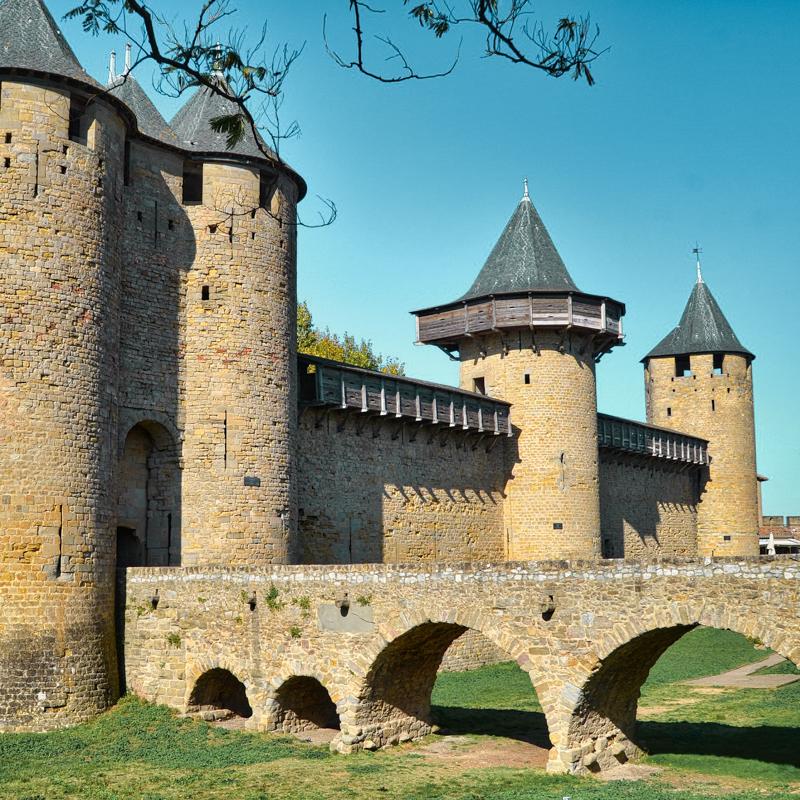 Vieux pont carcassonne