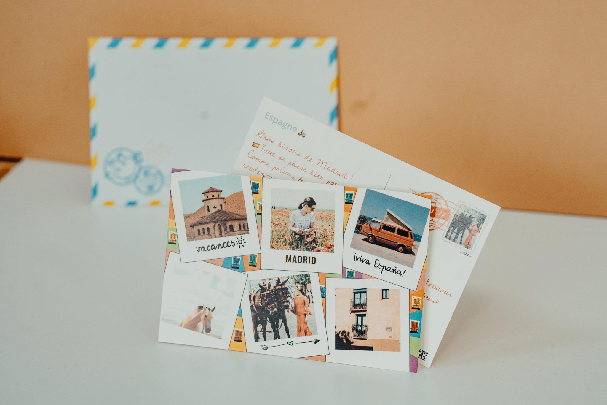 carte postale espagne barcelone