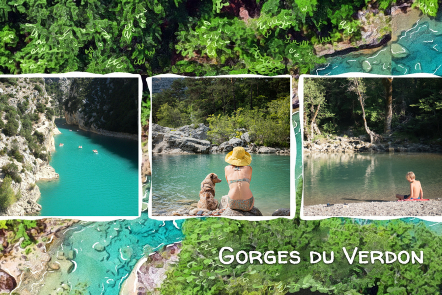 postcard from gorges du verdon