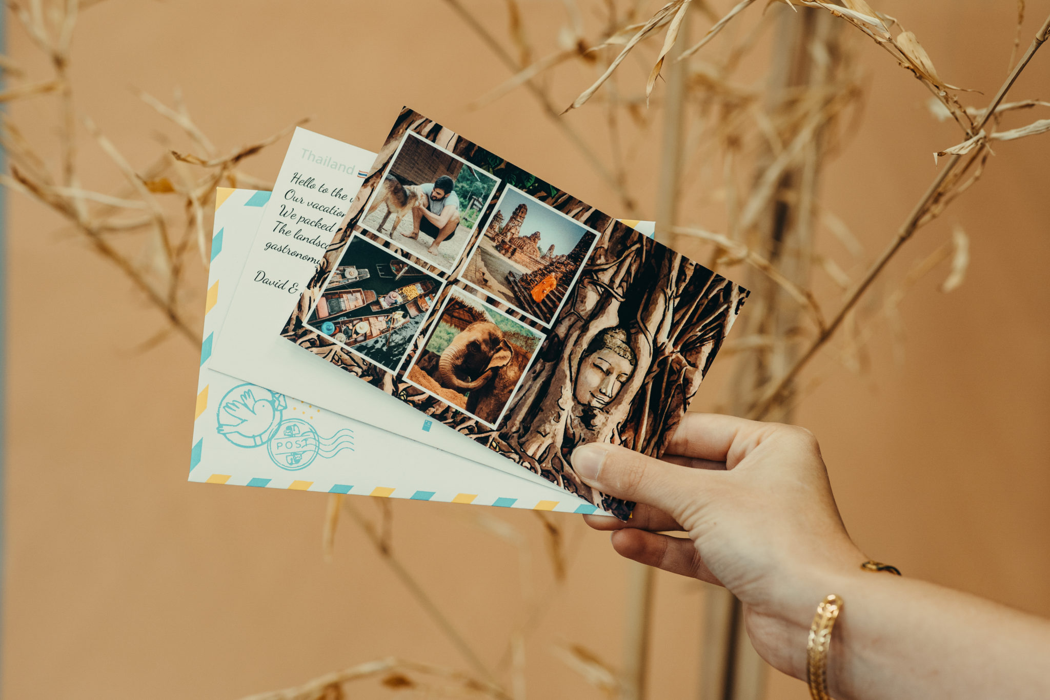 carte postale originale vietnam