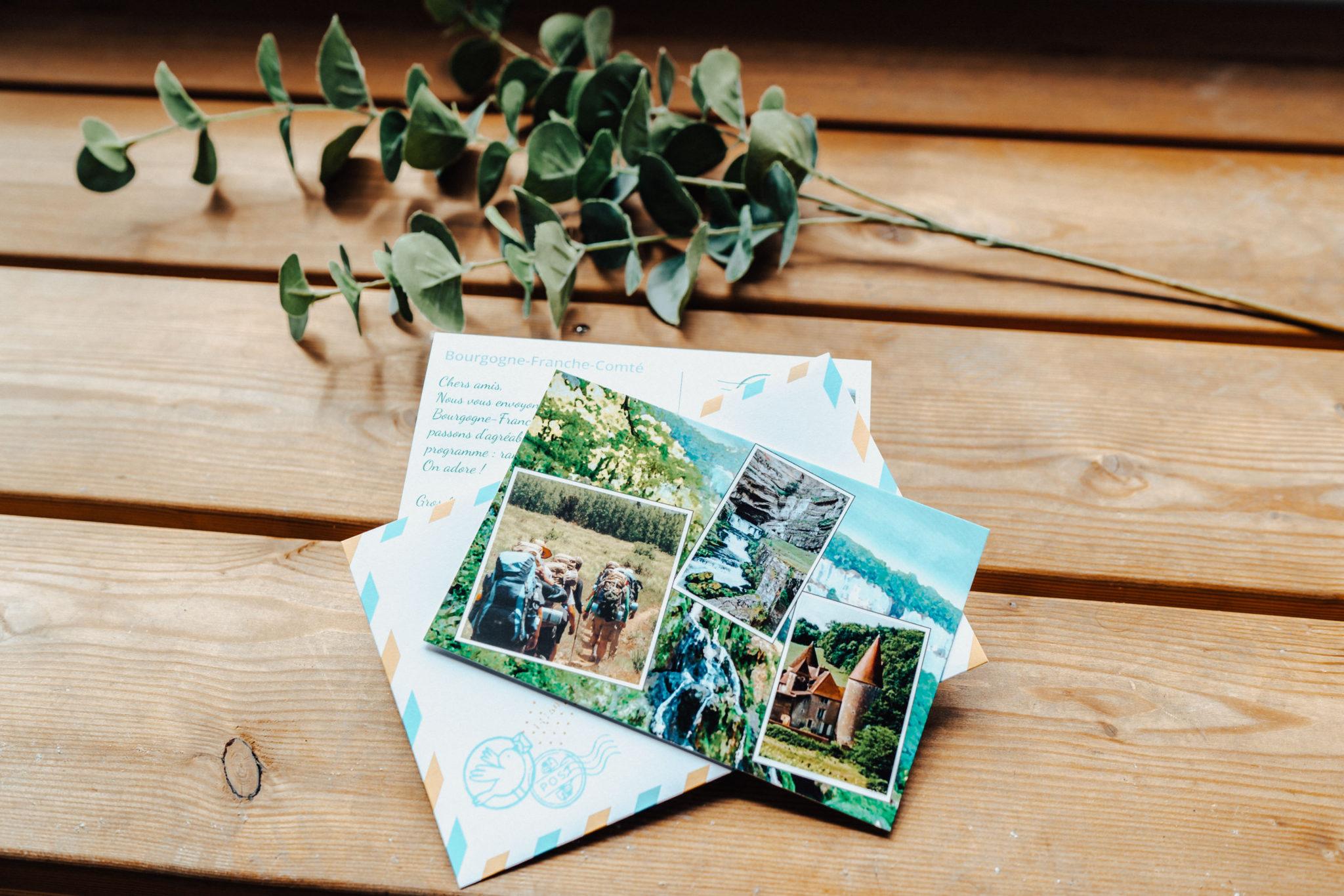 carte avec photos rando et plante
