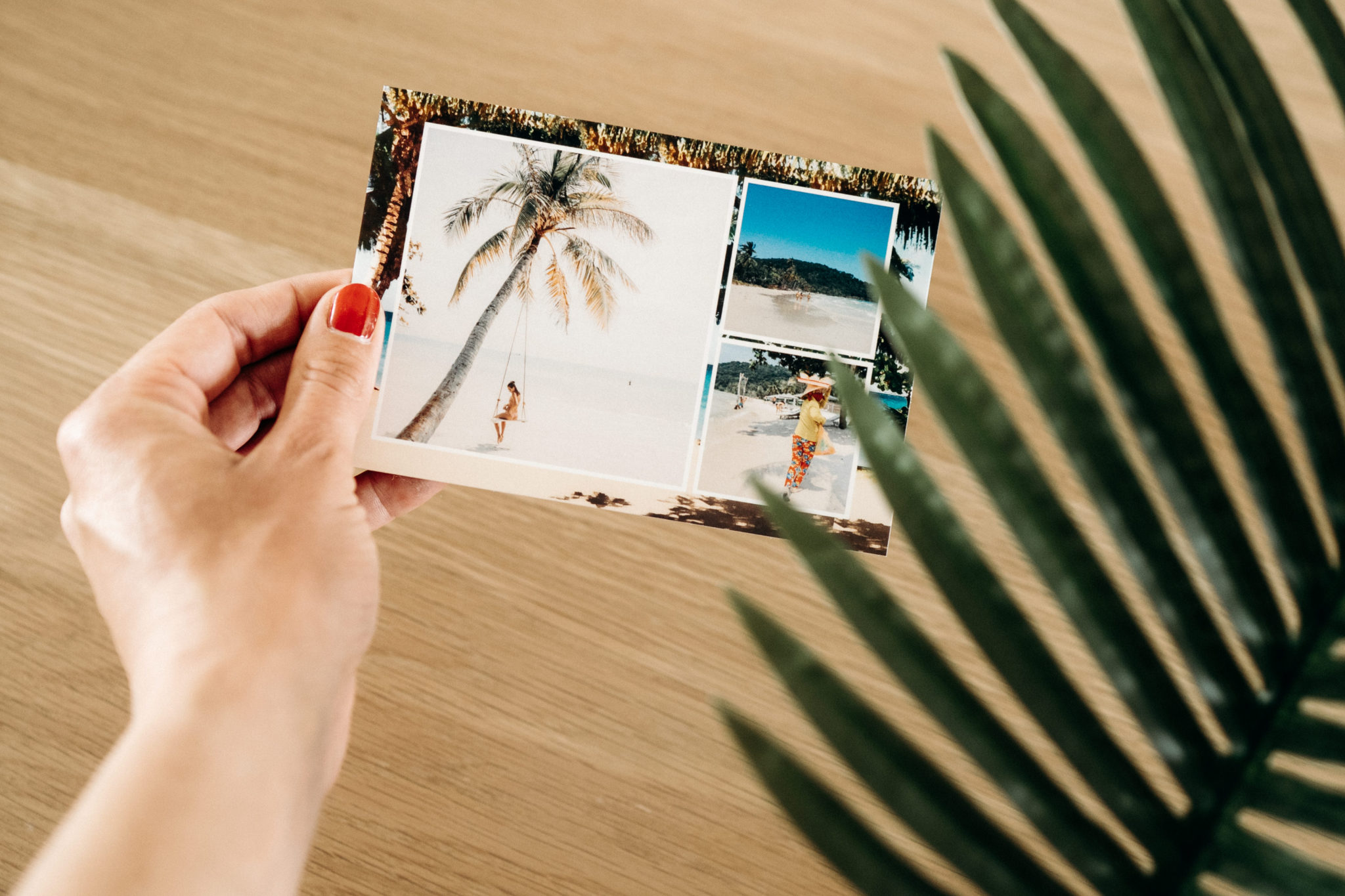 thailande carte postale plage