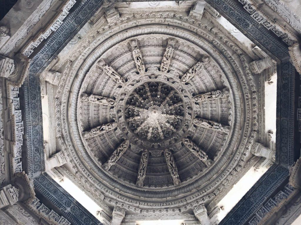 Dome du temple Jain de Ranakpur