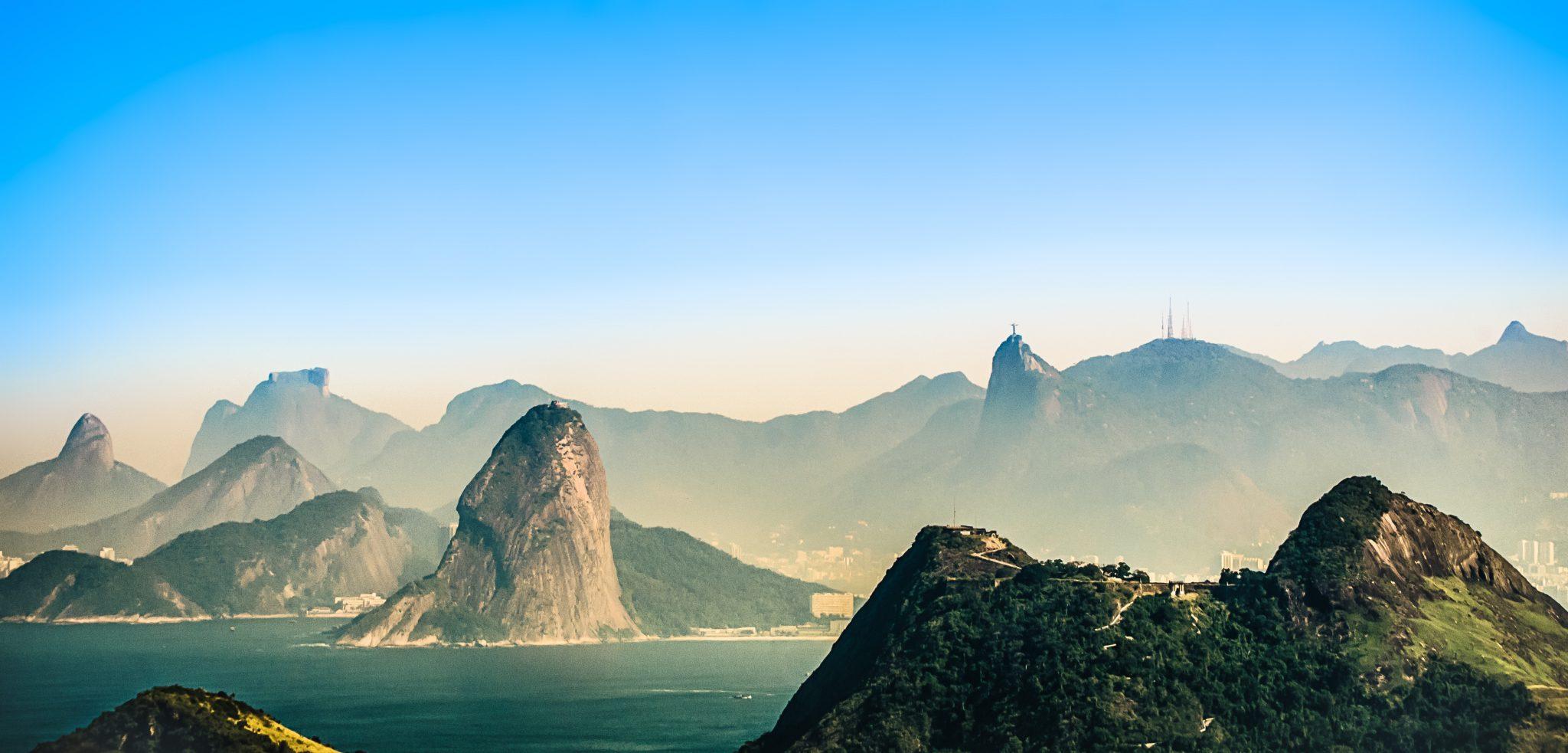 montagnes a Rio de Janeiro Bresil