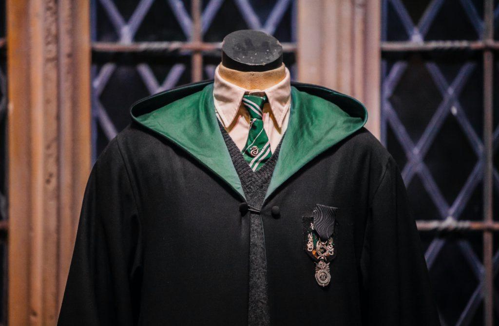 robe serpentard harry potter