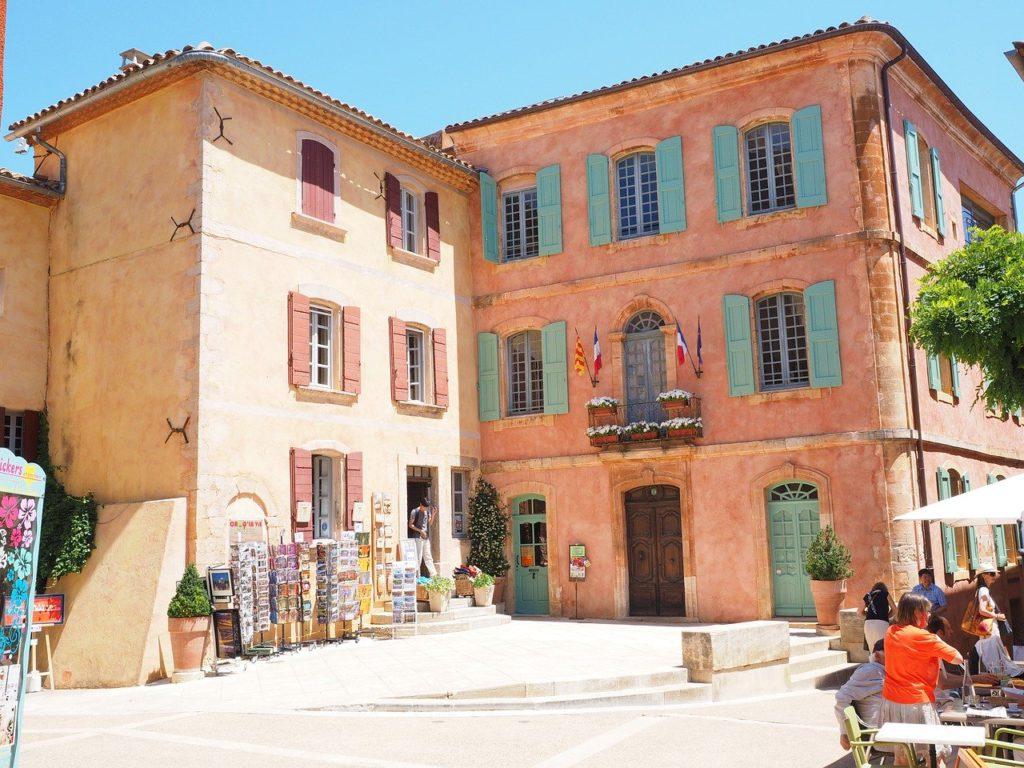 village france de Roussillon