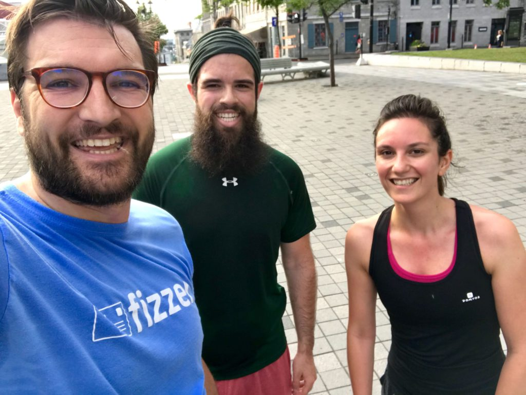 Groupe de running Fizzer a Cabourg