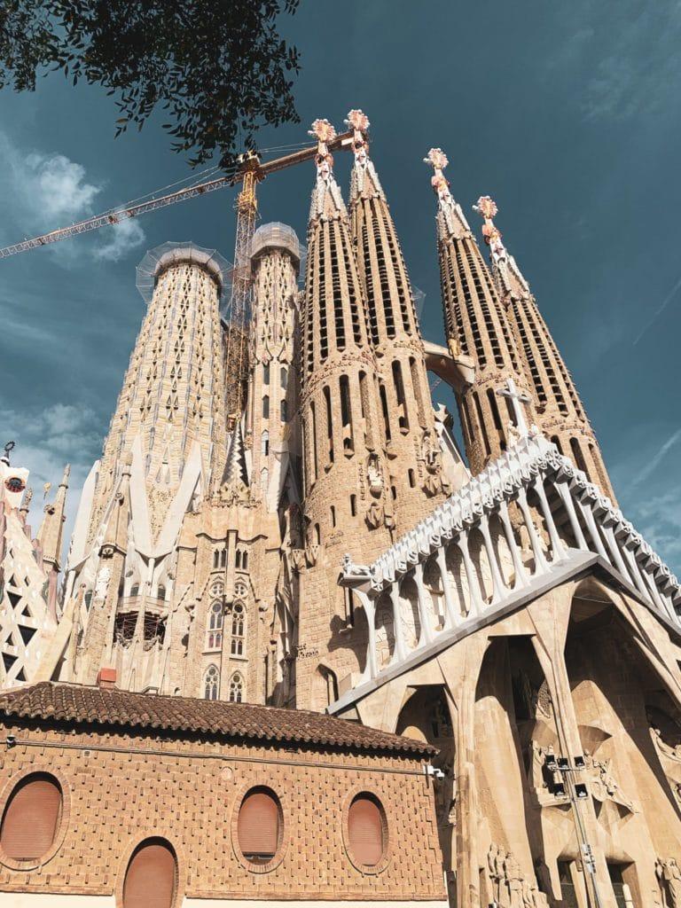 sagrada-familia à Barcelone