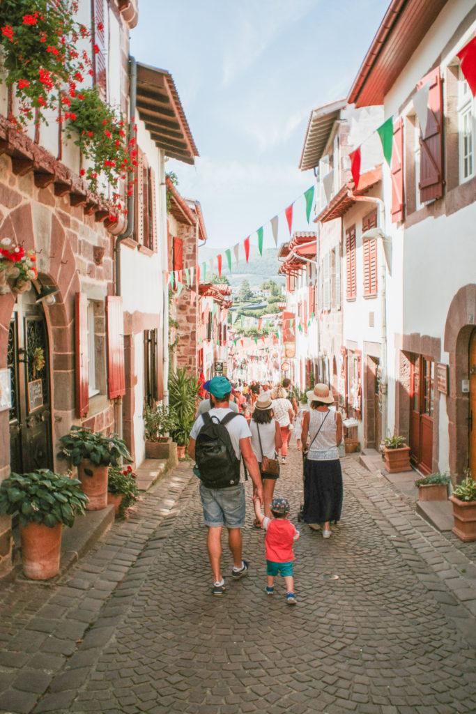 Village de Saint-Jean-Pied-de-Port Pays Basque