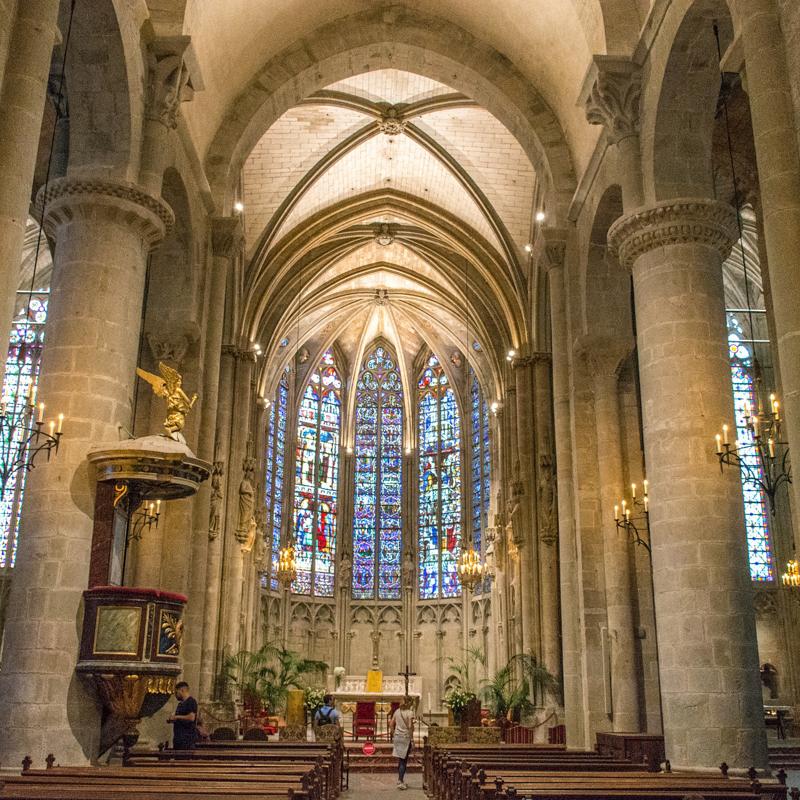 Basilique Saint Nazaire Carcassonne