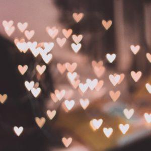lumieres en forme de coeurs