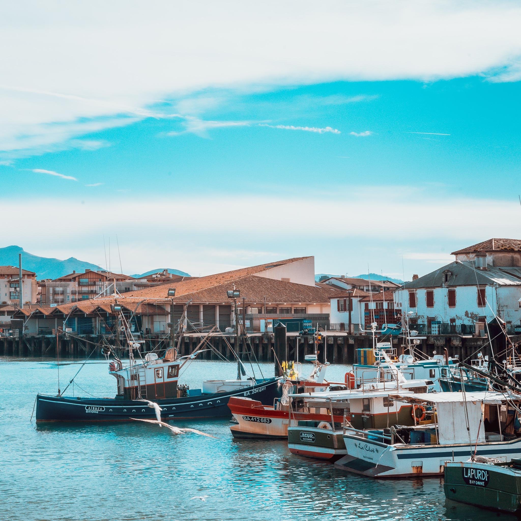 saint jean de luz port pays basque
