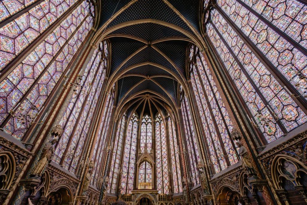 Vitraux de la Sainte-Chapelle à Paris