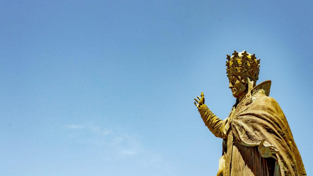 Statue de Saint-Sylvestre