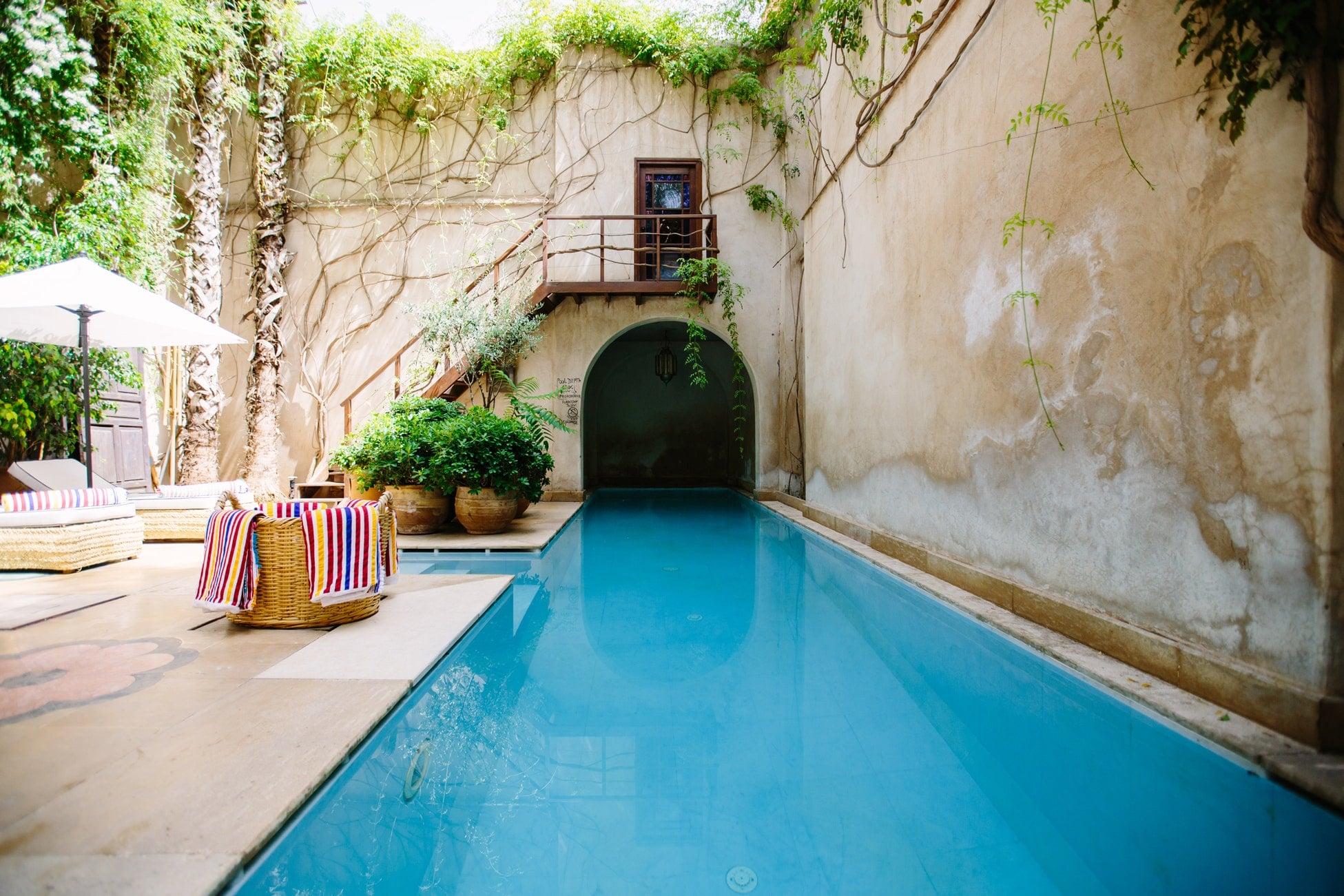 Logement avec piscine pour un week-end avant l'été.