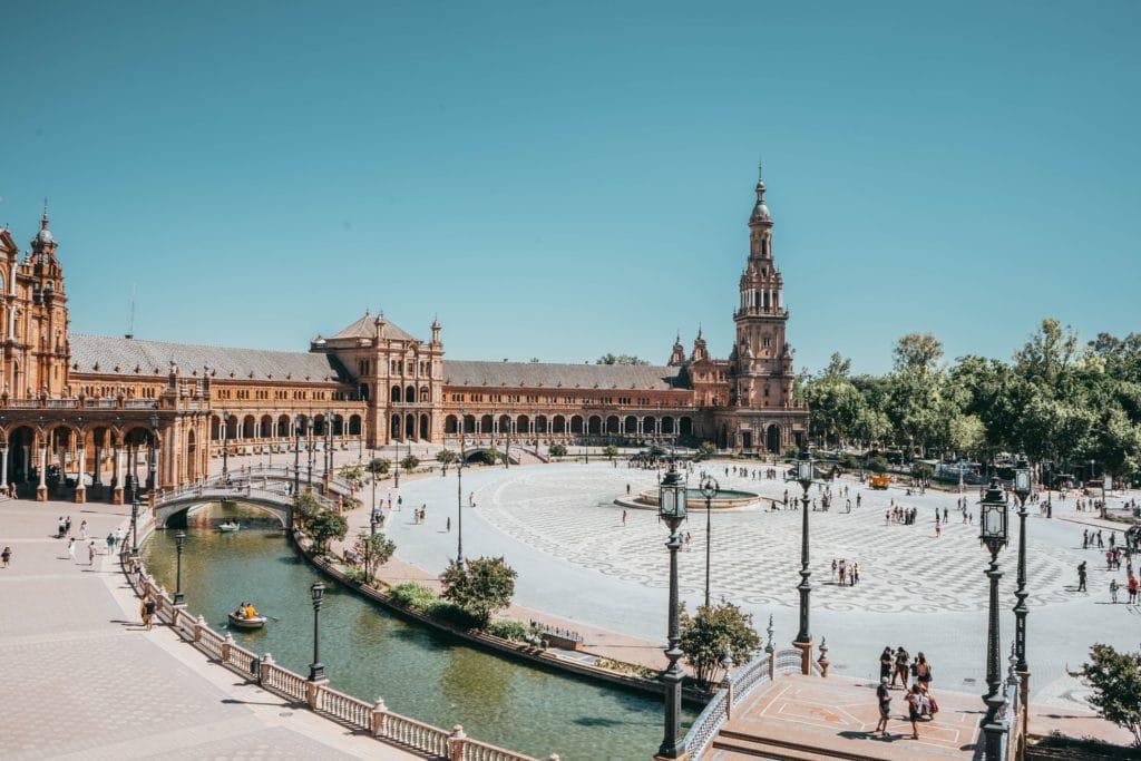 Vue de Séville en Espagne