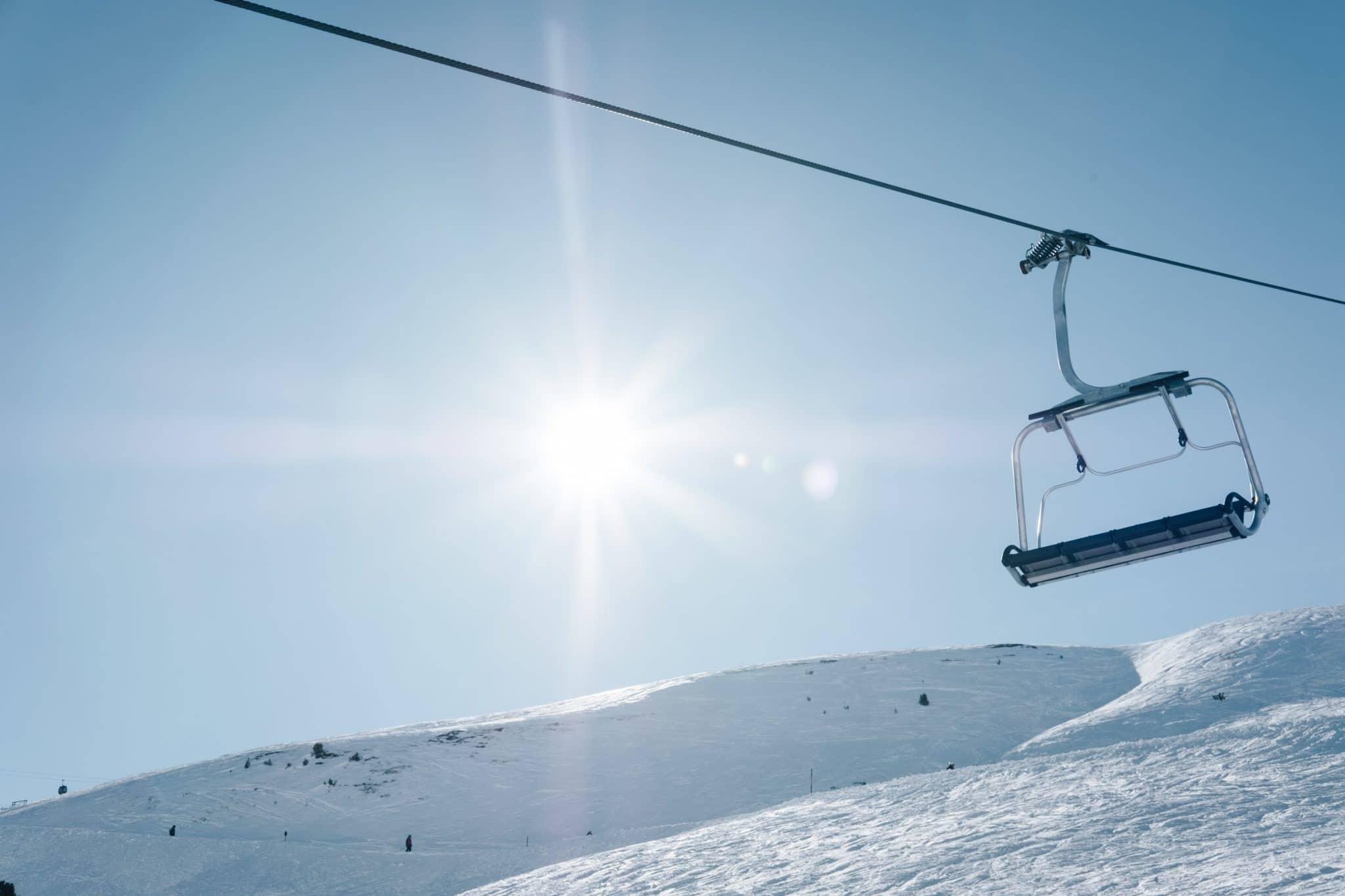 Ski dans les Pyrenees