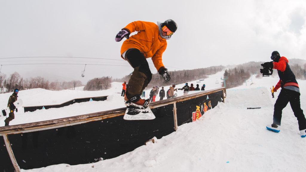 Snowpark sport d'hiver