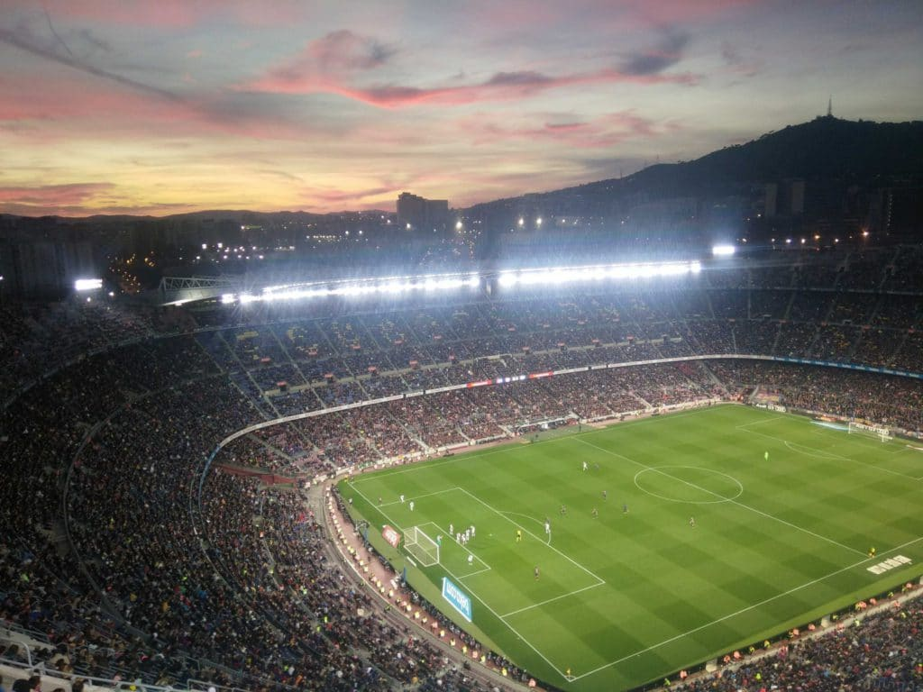 Stade de foot Camp Nou
