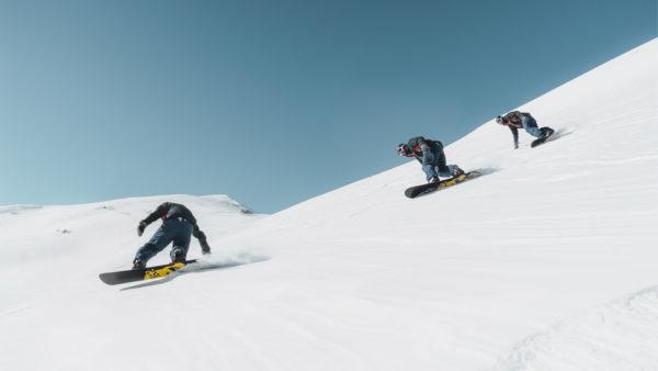 Station de snowboard en France